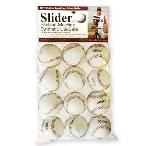 Heater Slider Lite Synthetic Leather Pitching Machine Baseballs-Baseball & Softball Equipment-Heater-Unique Sports