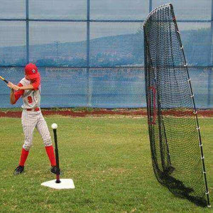 Heater Spring Away Batting Tee & Big Play Net-Equipment For The Beginner-Heater-Unique Sports