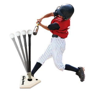 Heater Spring Away Batting Tee-Equipment For The Beginner-Heater-Unique Sports