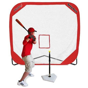 Spring Away Pro 7'x7' Pop-Up Net By Heater Sports-Equipment For The Beginner-Heater-Unique Sports