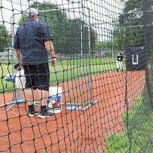 JUGS Cage #1 Polyethylene: 70' L x 14' W x 12' H Batting Cage Nets-Baseball & Softball Equipment-JUGS-Unique Sports