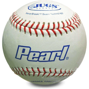 JUGS Pearl Leather Baseballs-Baseball & Softball Equipment-JUGS-1 Dozen-Unique Sports