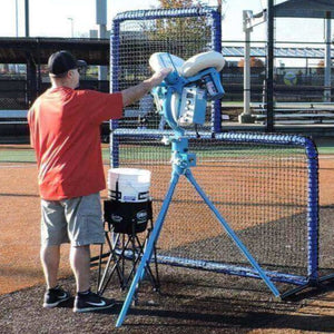 Jugs Protector Blue Series L-Shaped Pitchers Screen-Baseball & Softball Equipment-JUGS-Unique Sports