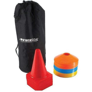 Kwik Goal Cone and Carry Pack-Soccer Equipment-Kwik Goal-Unique Sports