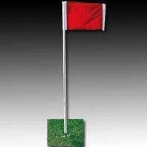 Kwik Goal Official Corner Flags (set of 4)-Soccer Equipment-Kwik Goal-Unique Sports
