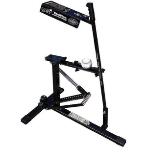Louisville Slugger Black Flame Pitching Machine-Baseball & Softball Equipment-Louisville Slugger-Unique Sports