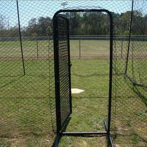 Heavy-Duty Steel-Framed Batting Cage Door By Muhl Tech-Parts & Accessories-Muhl Tech-Unique Sports
