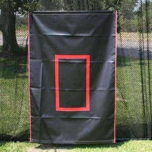 6'x4' Canvas Batting Cage Backdrop By Muhl Tech-Baseball & Softball Equipment-Muhl Tech-Unique Sports