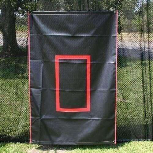 6'x4' Canvas Batting Cage Backdrop By Muhl Tech