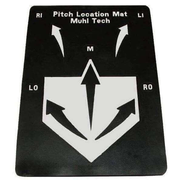 Muhl Tech Pitch Location Mat-Baseball & Softball Equipment-Muhl Tech-Unique Sports