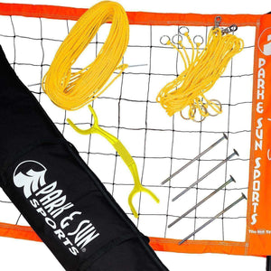 Park & Sun Spectrum 2000 Volleyball Net System-Volleyball Equipment-Park & Sun-Orange-Unique Sports