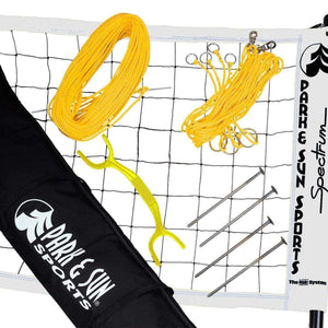 Park & Sun Spectrum 2000 Volleyball Net System-Volleyball Equipment-Park & Sun-White-Unique Sports