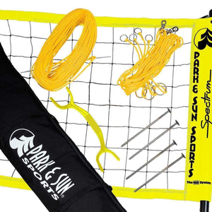 Park & Sun Spectrum 2000 Volleyball Net System-Volleyball Equipment-Park & Sun-Yellow-Unique Sports