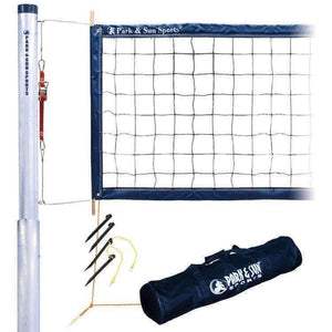 Park & Sun Tournament 4000 Telescopic Set (2 pc pole)-Volleyball Equipment-Park & Sun-Unique Sports