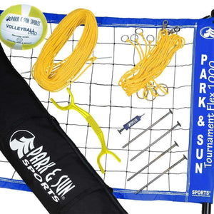 Tournament Flex 1000 Net System-Volleyball Equipment-Park & Sun-Unique Sports