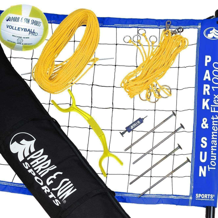 Park & Sun Tournament Flex 1000 Recreational Volleyball Set