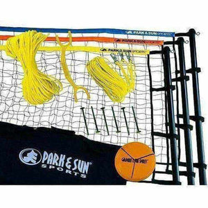 Park & Sun Tri-Ball Recreational Volleyball Set-Recreational Equipment-Park & Sun-Unique Sports
