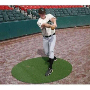 ProMounds On Deck Circles (Set of 2- 6' Green)-Baseball & Softball Equipment-ProMounds-Unique Sports