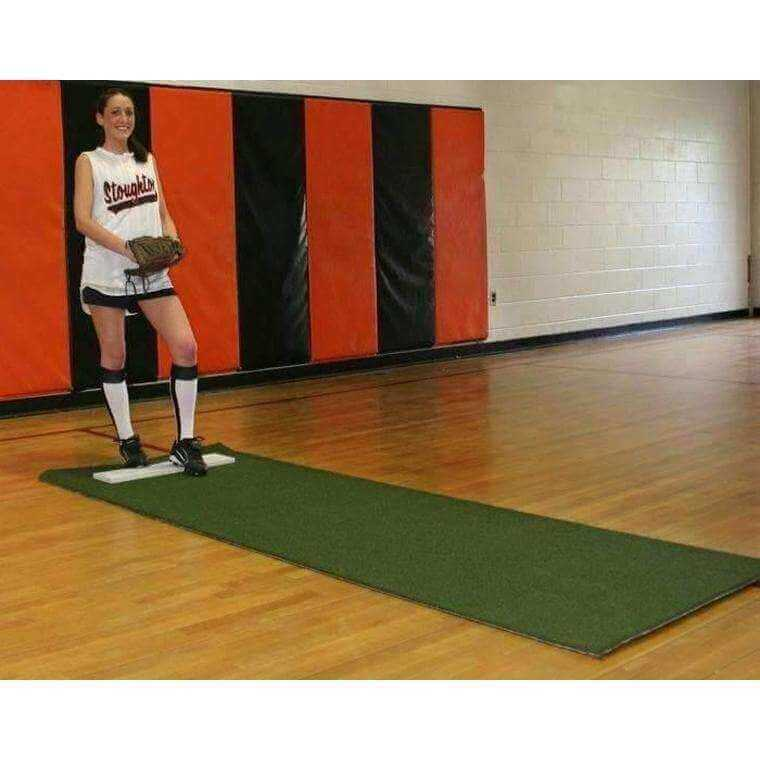 ProMounds Softball Pitching Mat with Non-Skid Back-Mats - Pitching-ProMounds-Unique Sports