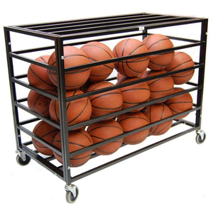 "Trigon Sports International ProCage Ball Lockers-Basketball Equipment-Trigon Sports International-Heavy Duty (45""L x 24""W x 38""H)-Unique Sports"