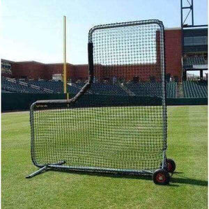 "The ProCage ""Ole 96er"" 8'x8' L-Screen With #96 Netting-Baseball & Softball Equipment-Trigon Sports International-Unique Sports"