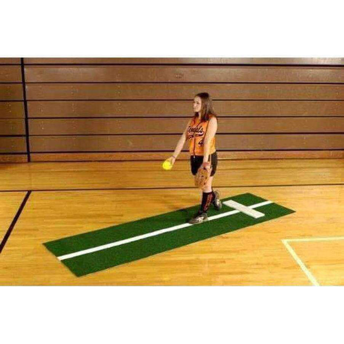 Trigon Sports International Stride Line Softball Pitching Mat