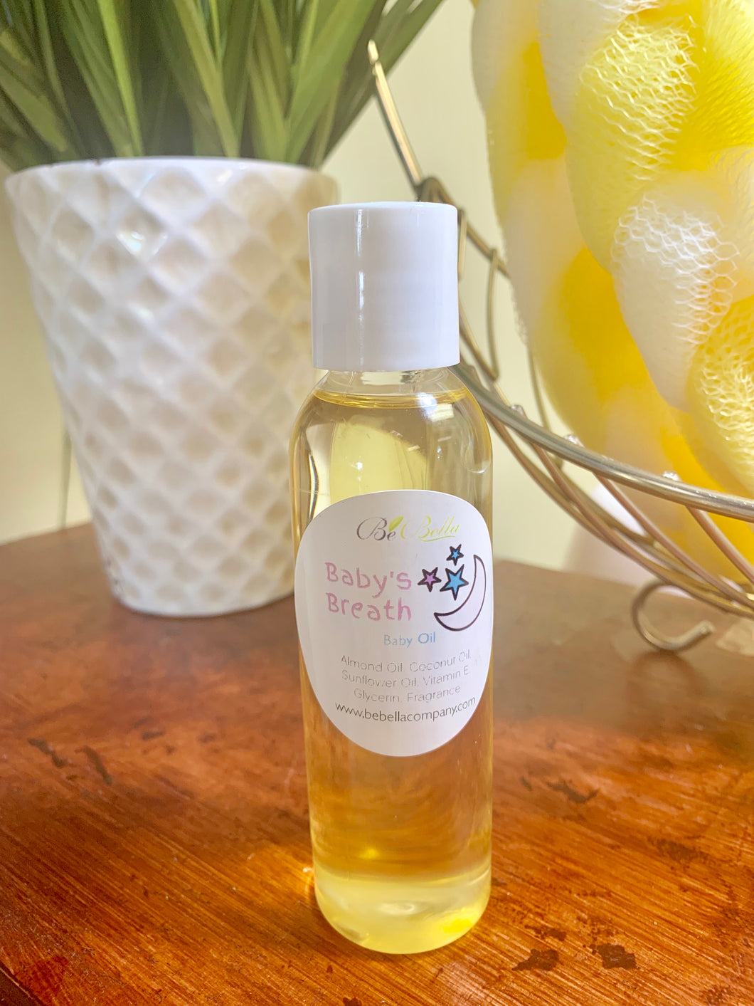 Baby's Breath Baby Oil - TRAVEL SIZE