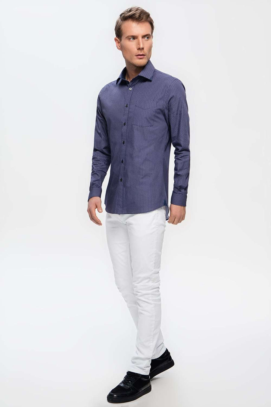 LEIPZIG DARK BLUE SHIRTe],Duacosta