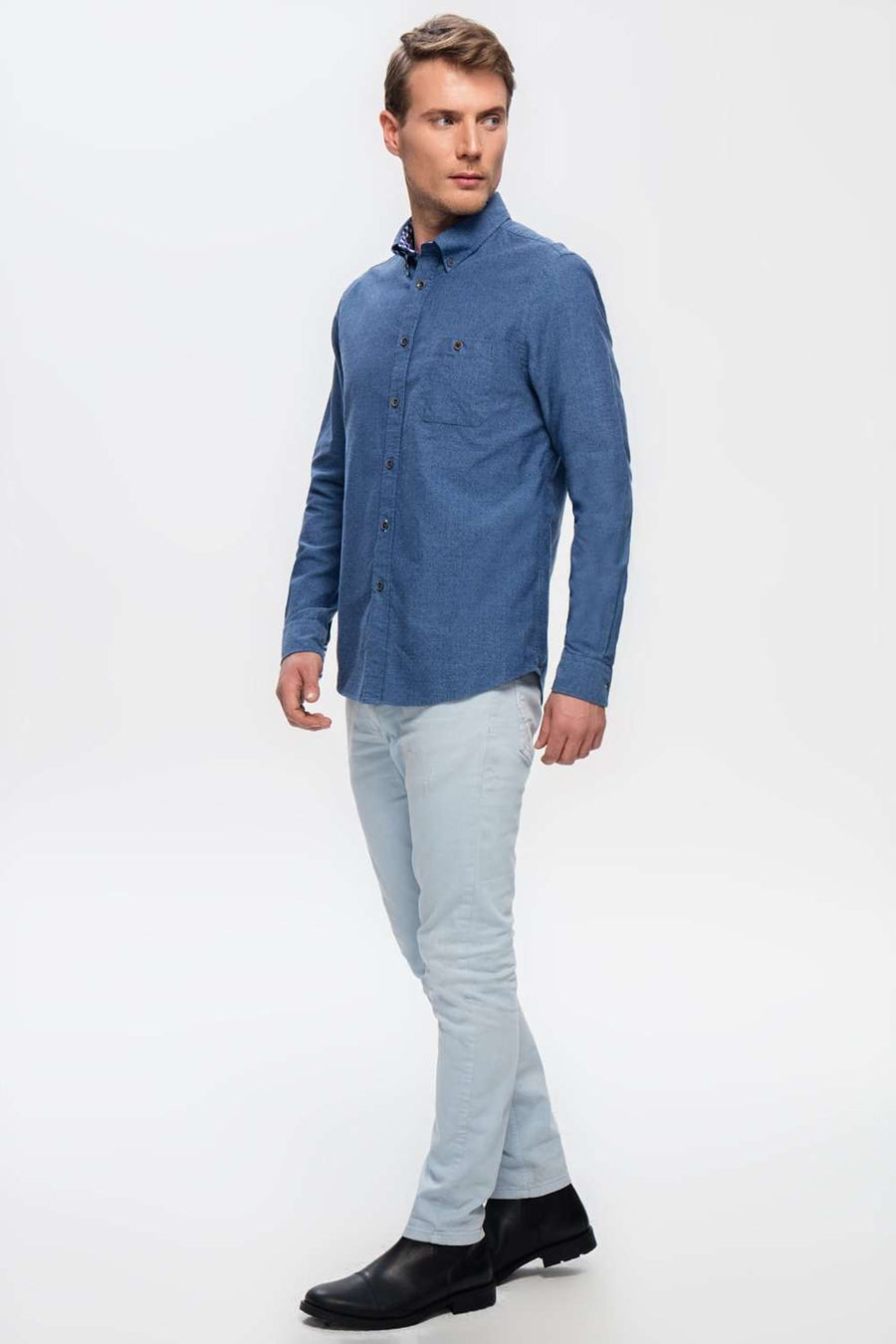 WROCLAW DARK BLUE SHIRTe],Duacosta