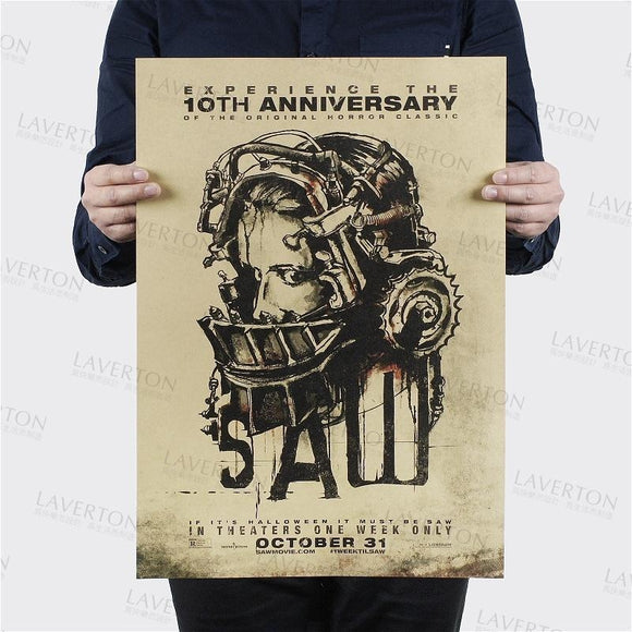 Saw 10th Anniversary Commemorative Poster