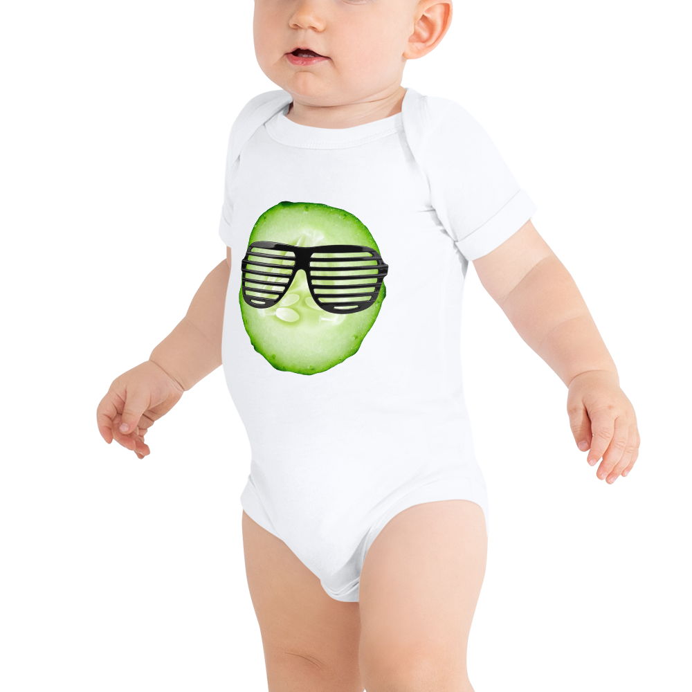 Cool As A Cucumber - Baby Onesie