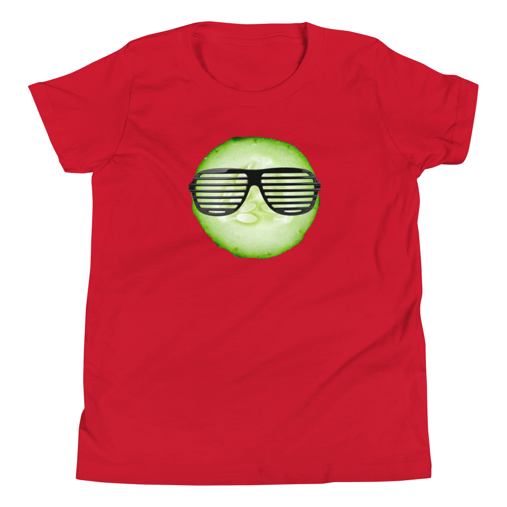 Cool As A Cucumber - Youth Short Sleeve T-Shirt