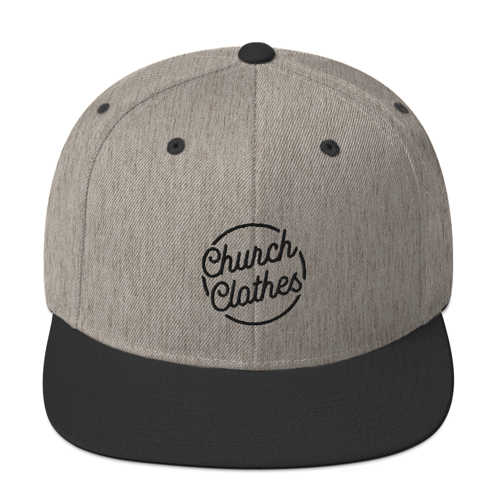 Church Clothes - Snapback Hat