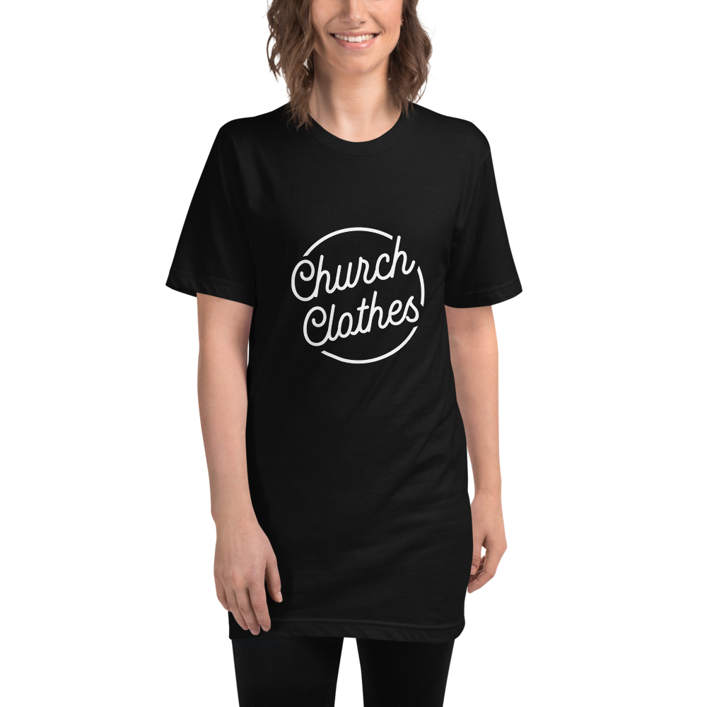 Church Clothes - Unisex Fine Jersey Tall T-Shirt