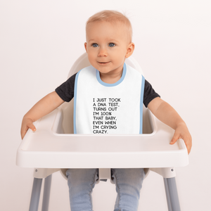 That Baby - Embroidered Baby Bib