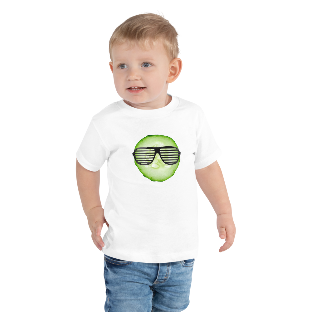 Cool As A Cucumber - Toddler Short Sleeve Tee