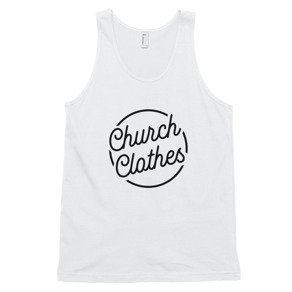 Church Clothes - Classic tank top (unisex)