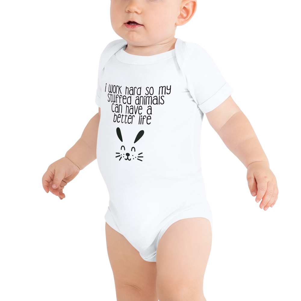 Work Hard - Baby Onesie