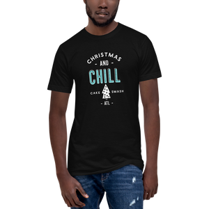 Christmas And Chill - Unisex Fine Jersey Tall T-Shirt