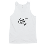 Font Lady - White Classic tank top (unisex)