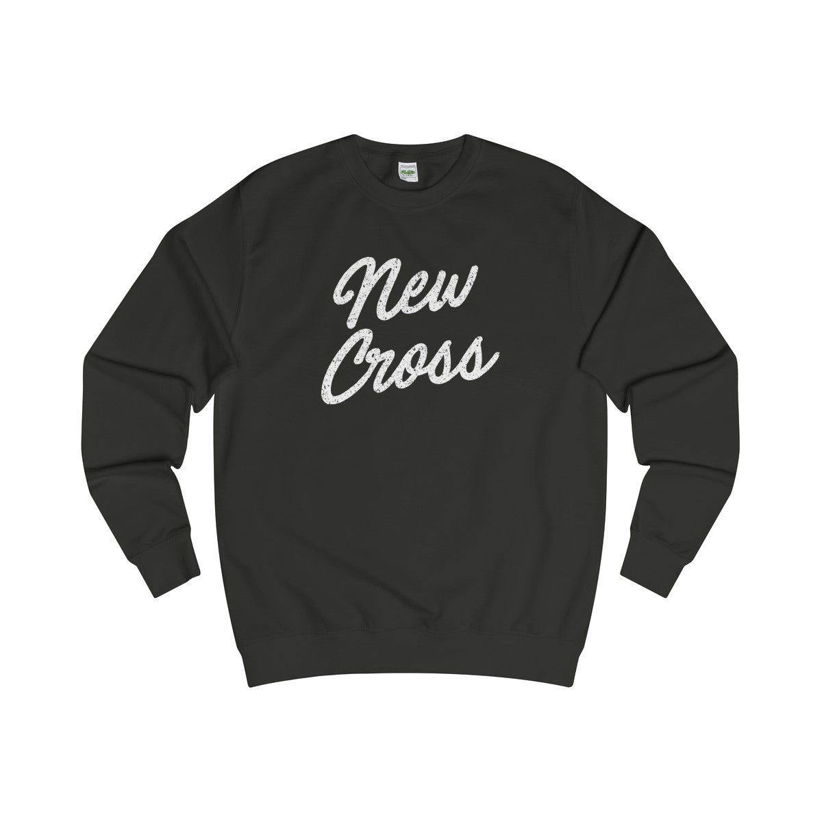 New Cross Scripted Sweater