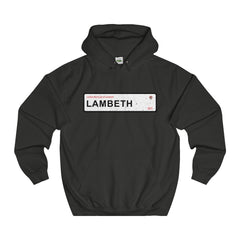 Lambeth Road Sign SE11 Hoodie