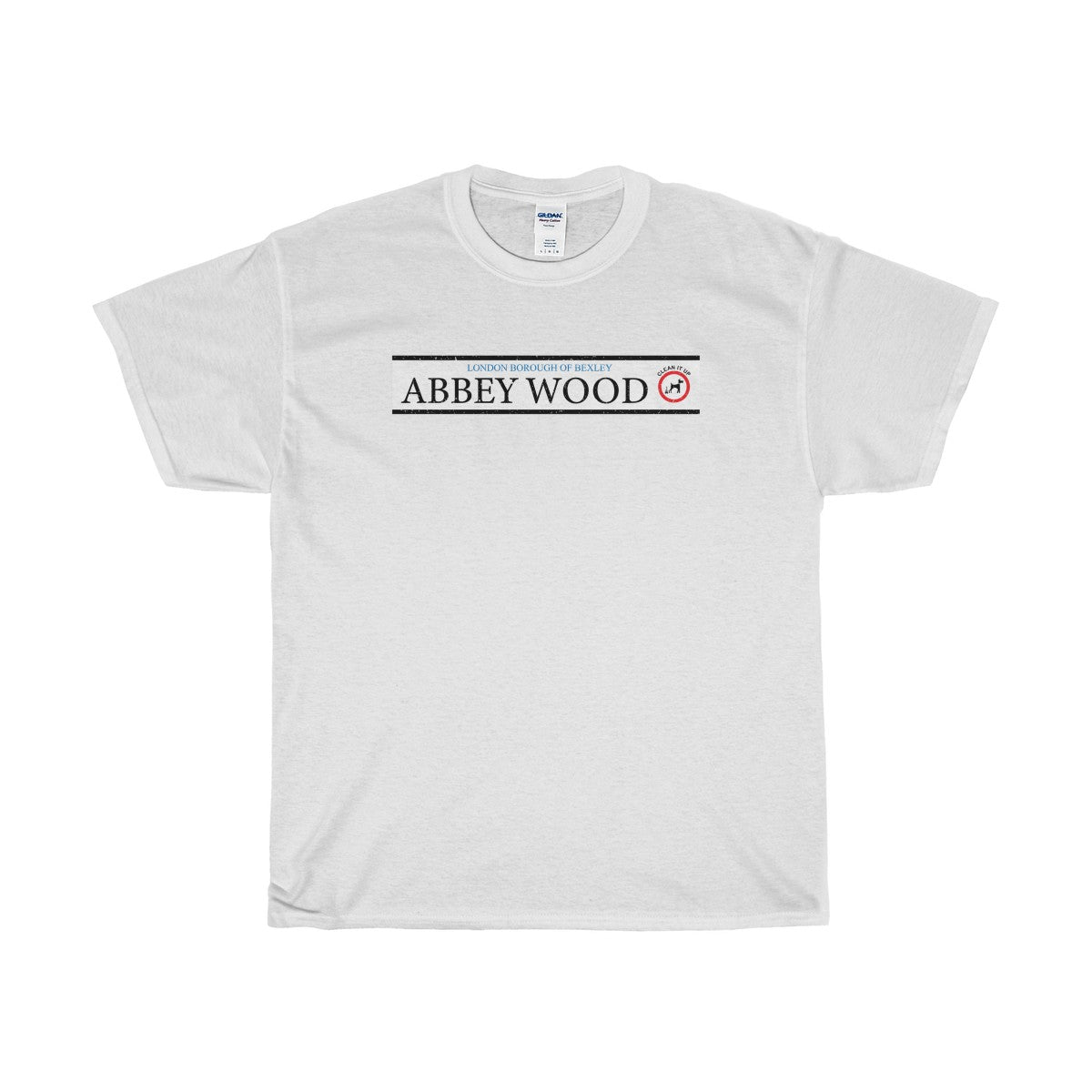 Abbey Wood Road Sign T-Shirt
