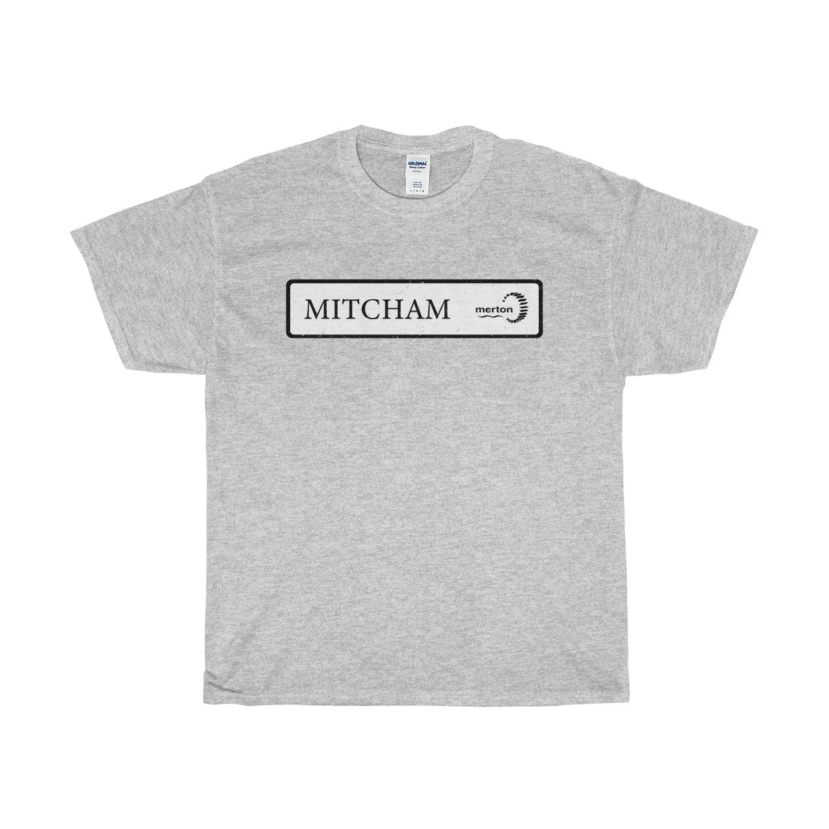 Mitcham Road Sign T-Shirt