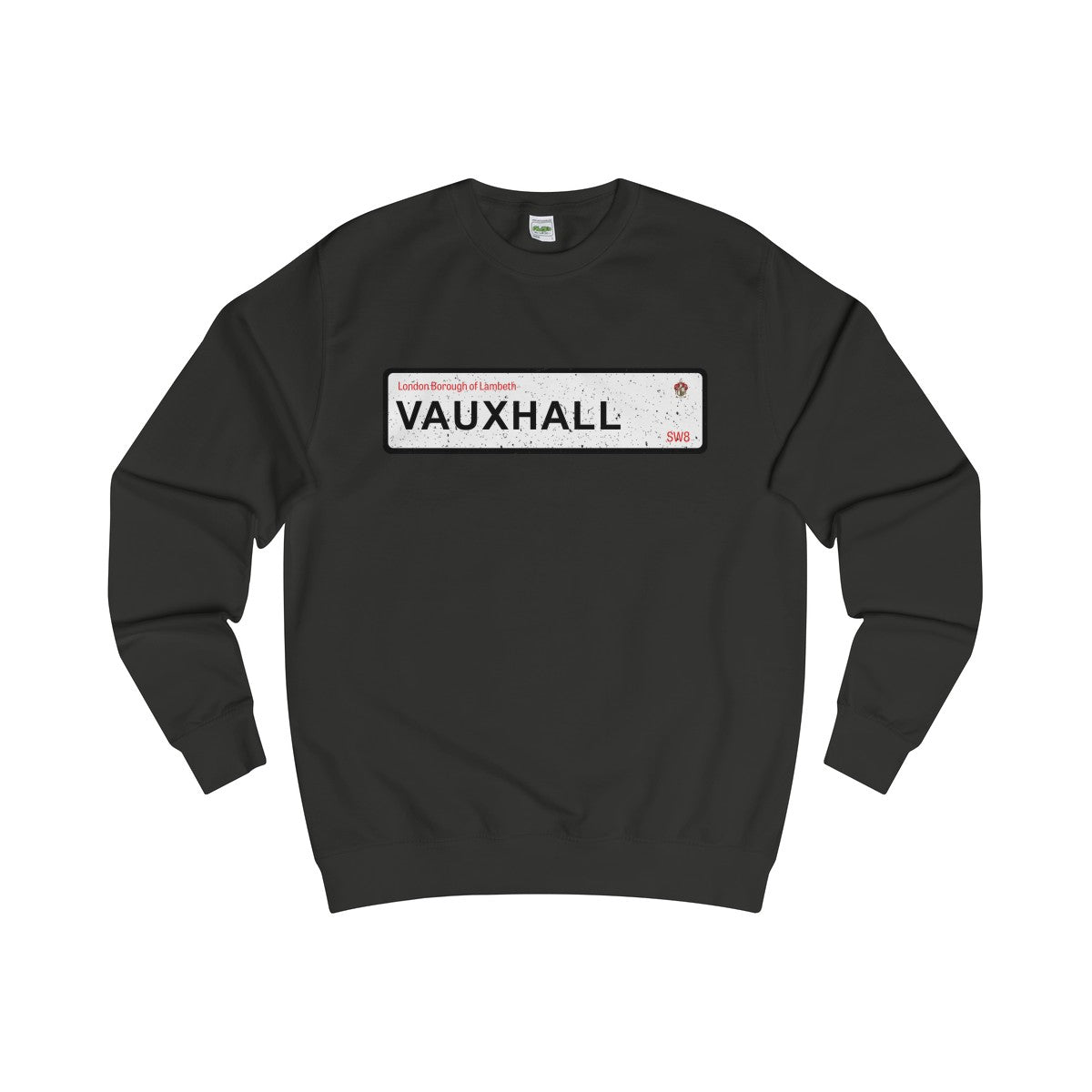 Vauxhall Road Sign SW8 Sweater