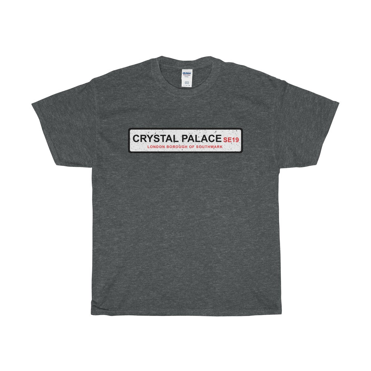 Crystal Palace Road Sign SE19 T-Shirt