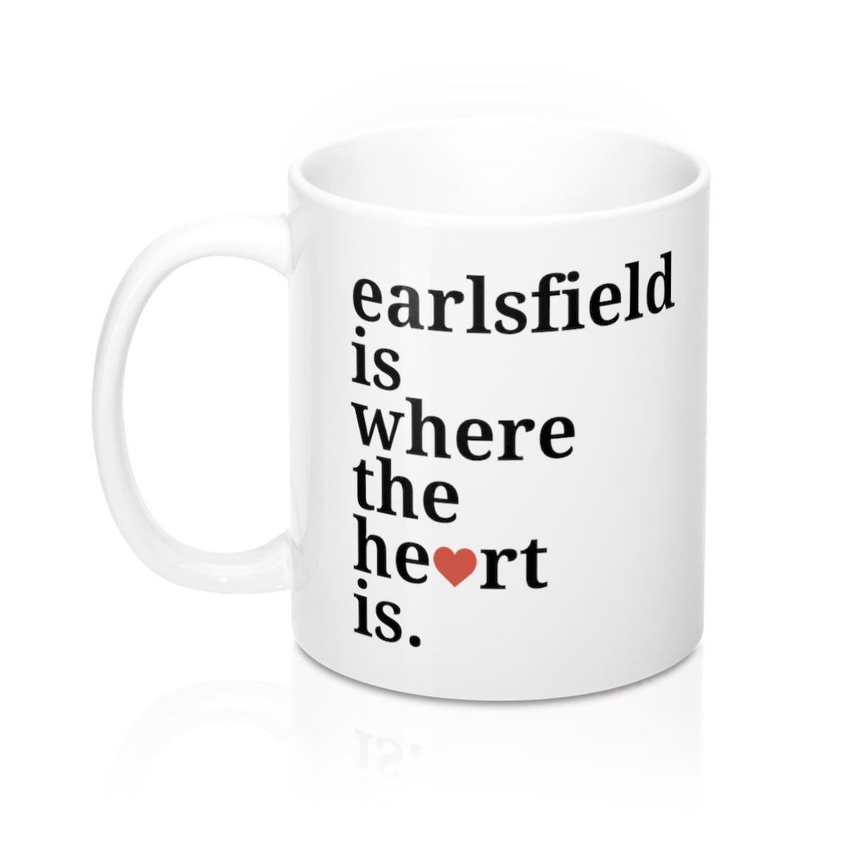 Earlsfield Is Where The Heart Is Mug