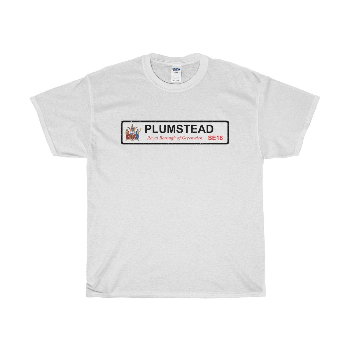 Plumstead Road Sign SE18 T-Shirt