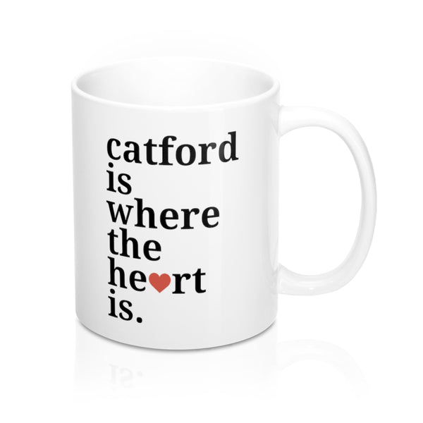 Catford Is Where The Heart Is Mug