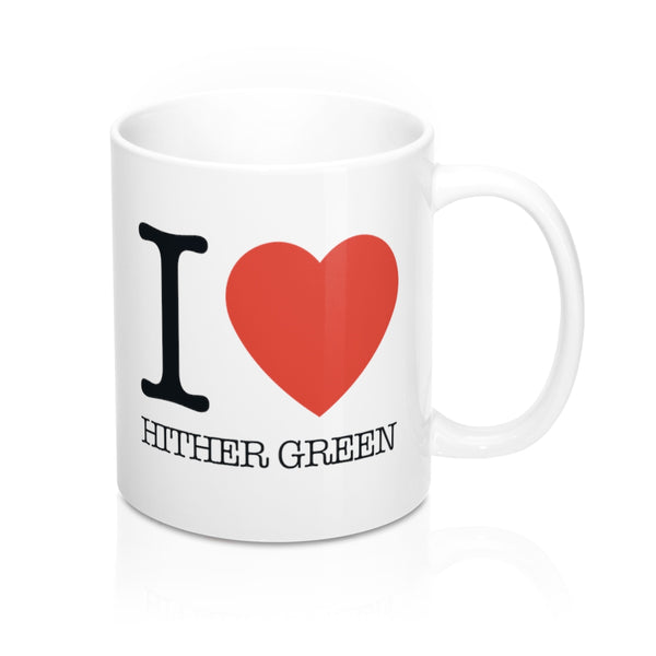 I Heart Hither Green Mug